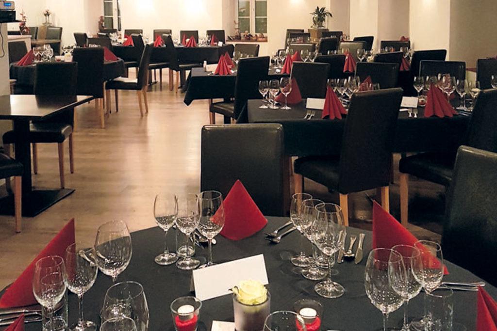 Hotel Restaurant Krone Leuk Eventsaal